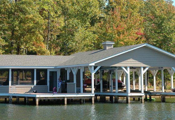Sunset Shores Boathouse