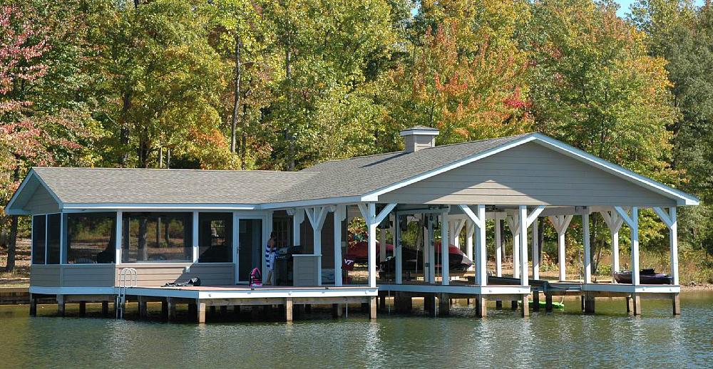 Colbert Boathouse Exterior