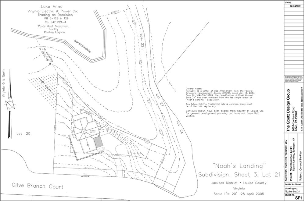 noahs landing concept plan lot 21