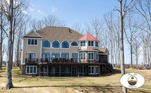 lake anna custom home
