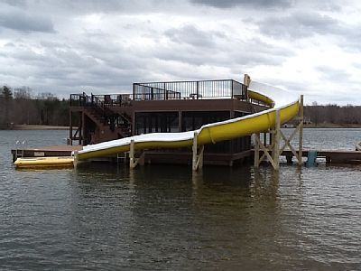 lake anna waterslide